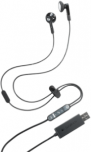 Logitech BH320 USB Stereo Earbuds