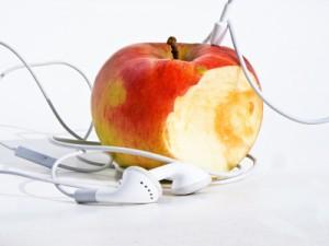 apfel in-ear-headphones