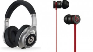 Beats by Dr. Dre Executive( li) und urBeats( re)